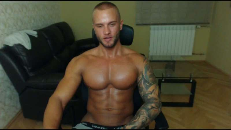 handsome cam performer Marko Love