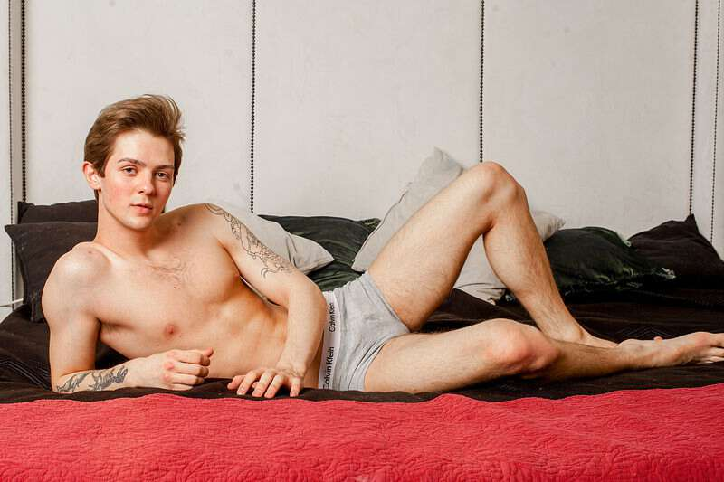 Gorgeous twink webcam boy Jordan Ballet in his underwear